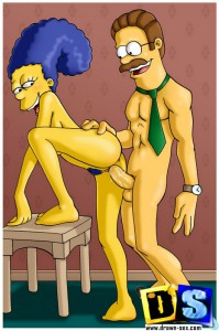 hot simpsons sex toon